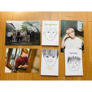 セブンティーン(SEVENTEEN)の【本日限定価格】SEVENTEEN 写真集 特典 セット(アート/エンタメ/ホビー)