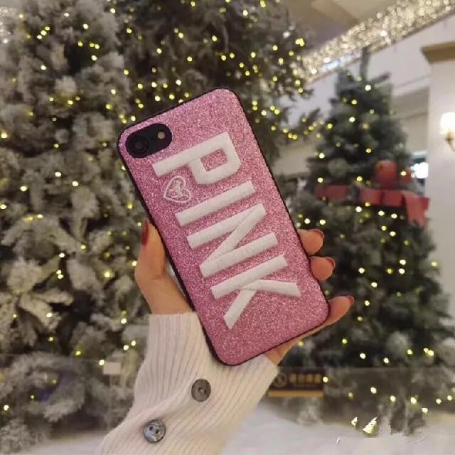 ビクトリア シークレット iPhoneケース(ピンク)の通販 by ちきちき's shop|ラクマ