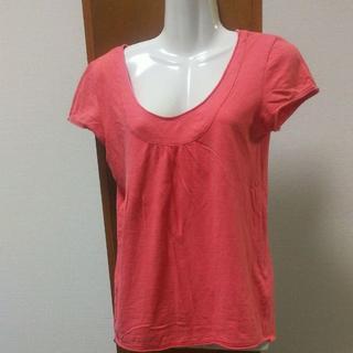 ジエンポリアム(THE EMPORIUM)のY*B4 半袖カットソー Tシャツ サーモンピンク(Tシャツ(半袖/袖なし))