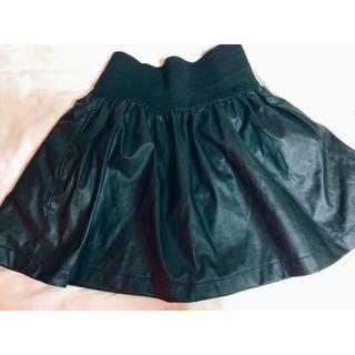 ザラ(ZARA)のレザースカート(ミニスカート)