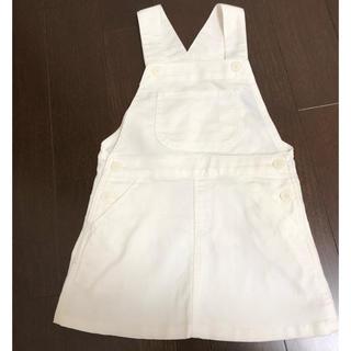 ムジルシリョウヒン(MUJI (無印良品))の無印良品 ジャンパースカート 110 (ワンピース)
