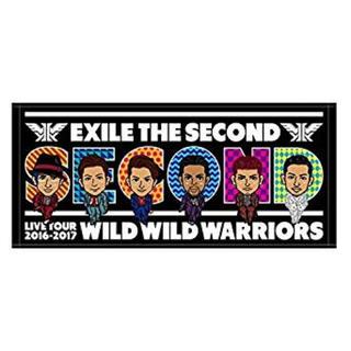 エグザイル トライブ(EXILE TRIBE)のEXILE THE SECOND フェイスタオル(ミュージシャン)