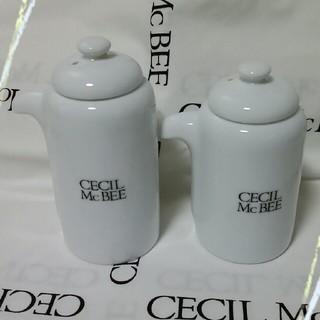 セシルマクビー(CECIL McBEE)のCECILMcBEE(セシルマクビー)ロゴ調味料入れ(容器)