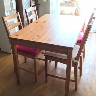 イケア(IKEA)のIKEA ダイニング テーブルセット(ダイニングテーブル)