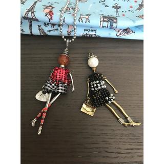 エディットフォールル(EDIT.FOR LULU)のパリ買い付け お人形ネックレス(ネックレス)