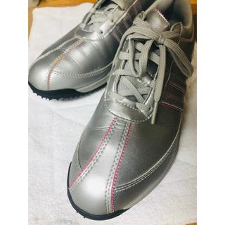 アディダス(adidas)のアディダスCLIMAPROOF(クライマプルーフ)ゴルフシューズ(レディース)(シューズ)