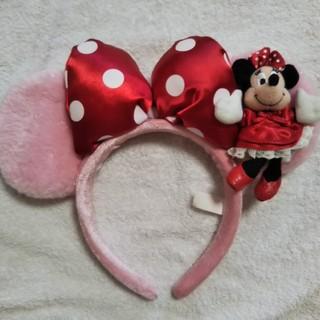 ディズニー(Disney)のミニーちゃんマスコット付きカチューシャ(カチューシャ)