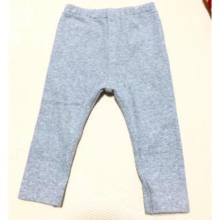 ムジルシリョウヒン(MUJI (無印良品))の80 無印 リブ パンツ グレー(パンツ)