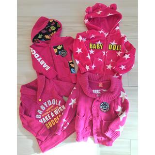 ベビードール(BABYDOLL)のBABYDOLL 冬服4枚セット(ニット/セーター)