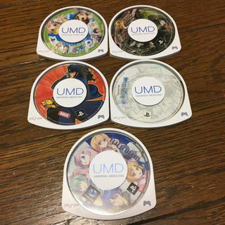 プレイステーションポータブル(PlayStation Portable)の【中古】PSP ソフト5セット(携帯用ゲームソフト)