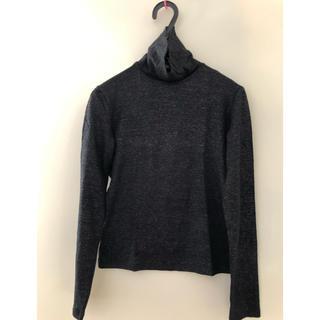 クリツィア(KRIZIA)のカットソー タートル ラメ Keizaidai jeans(カットソー(長袖/七分))