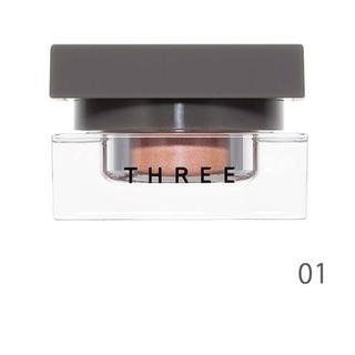 スリー(THREE)の★新品同様 THREE 限定 デアリングヴォヤージャー クリームアイシャドウ01(アイシャドウ)