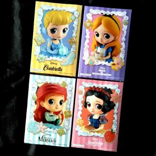 Disney - 【未開封】ディズニー プリンセス 4個セット Q posket SUGIRLY