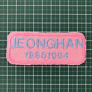セブンティーン(SEVENTEEN)のジョンハン 刺繍(K-POP/アジア)