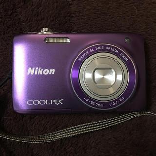 ニコン(Nikon)のNikon COOLPIX S3100(コンパクトデジタルカメラ)