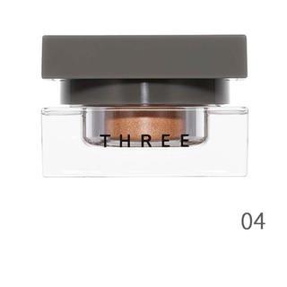 スリー(THREE)の★新品同様THREE 限定 デアリングヴォヤージャー クリームアイシャドウ04(アイシャドウ)