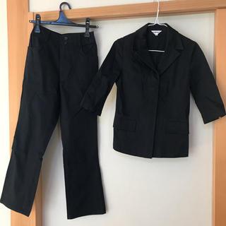 ディグレース(DGRACE)のDGRACE ディグレース パンツスーツ セット 上下 黒 七分袖(スーツ)