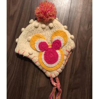 ディズニー(Disney)のミニーマウス ニット帽 50cm ディズニーランド(帽子)