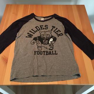 グラニフ(Design Tshirts Store graniph)のグラニフ くま 七分丈Tシャツ(Tシャツ(長袖/七分))