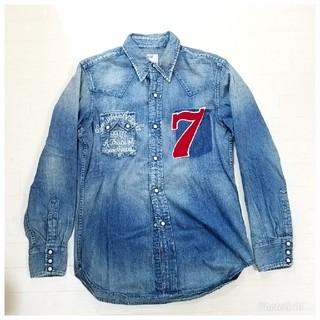リーバイス(Levi's)のTMT×Levi's7周年限定ウエスタンデニムシャツ サイズM(シャツ)