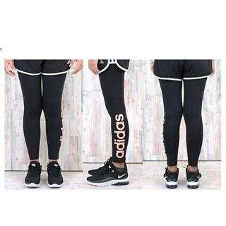 アディダス(adidas)のアディダス タイツ 黒色 XLサイズ(ウォーキング)