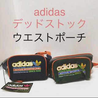 アディダス(adidas)のadidas デッドストック レアアイテム ウエストポーチ  80年代後半〜90(ボディバッグ/ウエストポーチ)