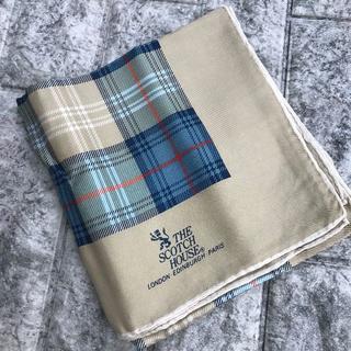 ザスコッチハウス(THE SCOTCH HOUSE)のスコッチハウス スカーフ ストール チェック 約80×80cm【10-457】(バンダナ/スカーフ)