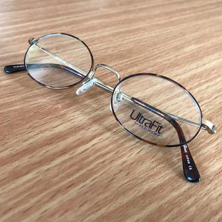 アヤメ(Ayame)の込 日本製 チタン ゴールド デミ べっこう柄 メガネ フレーム 眼鏡(サングラス/メガネ)