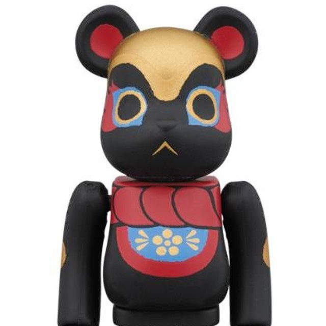 【送料込】イヌハリゴン 黒 100% ベアブリック 東京スカイツリー ソラマチ エンタメ/ホビーのおもちゃ/ぬいぐるみ(キャラクターグッズ)の商品写真