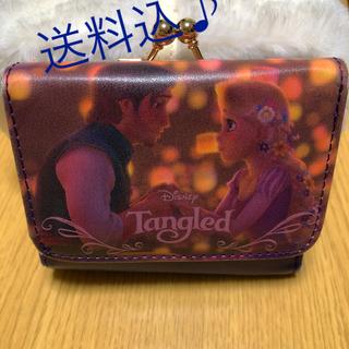 ディズニー(Disney)のがま口 ミニ財布 ラプンツェル(財布)