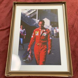フェラーリ(Ferrari)のFerrari レース 生写真(写真額縁 )