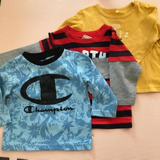 ニッセン(ニッセン)の長袖シャツ3点セット 男の子 80cm(Tシャツ)