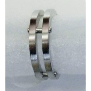 サージカルステンレス 高級 シルバーリング(リング(指輪))