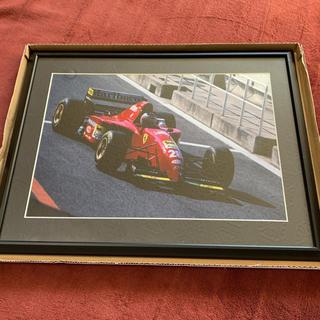 フェラーリ(Ferrari)のFerrari レース 生写真 額縁(写真額縁 )