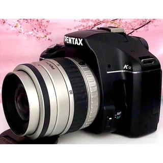 ペンタックス(PENTAX)の初心者向け✨小さく軽い一眼レフ✨機能も充実で安心✨Pentax K-X(デジタル一眼)