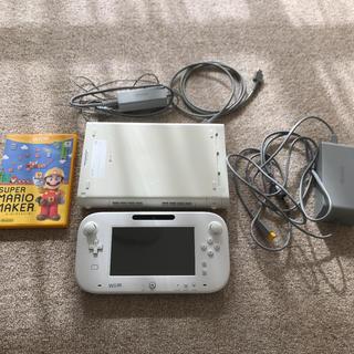 Wii U - wii U 本体 ソフトマリオメーカーセット