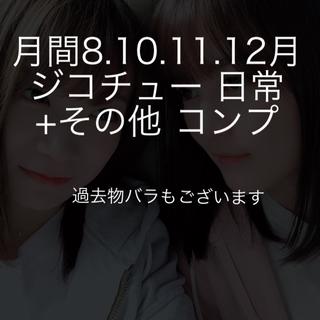 ノギザカフォーティーシックス(乃木坂46)の月間8.10.11.12月 ジコチュー 日常 +その他 バラもあります(アイドルグッズ)
