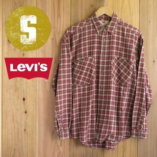 リーバイス(Levi's)の★83/Sサイズ/リーバイス チェック柄 長袖 シャツ(シャツ)