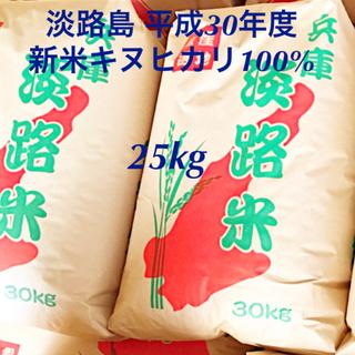 淡路島 平成30年度 新米 キヌヒカリ 100%  淡路島産 新米 農家直送