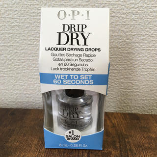 オーピーアイ(OPI)の新品 OPI DRIPDRY ドリップドライ 速乾材(その他)