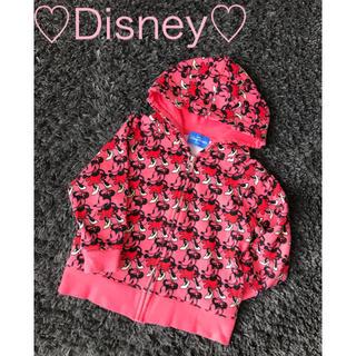 ディズニー(Disney)の♡Disney♡ ミニーマウスパーカー 100㎝(ジャケット/上着)