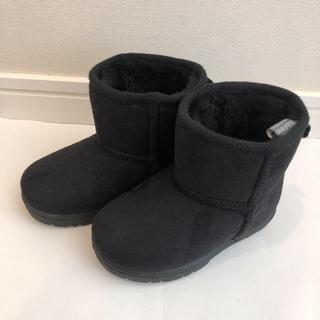 キッズフォーレ(KIDS FORET)のchocolat様専用 ムートンブーツ 14cm と クロックス長靴 おまとめ(ブーツ)
