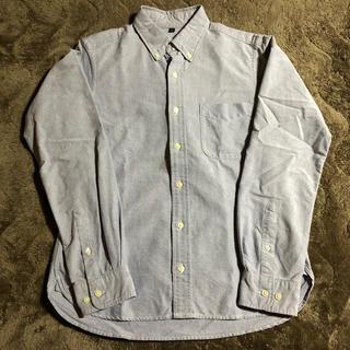 MUJI (無印良品) - ボタンダウンシャツ コットン 無印良品