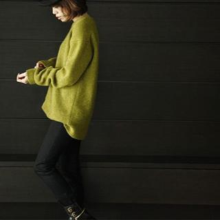 スタニングルアー(STUNNING LURE)のスタニングルアーのヤククルーネックプルオーバー(ニット/セーター)