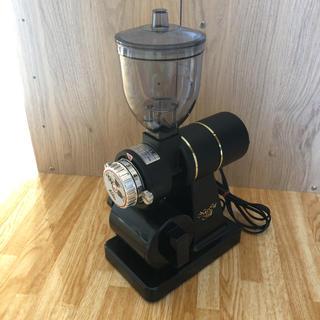 カリタ(CARITA)の新品同様 カリタ ナイスカットミル ブラック(電動式コーヒーミル)