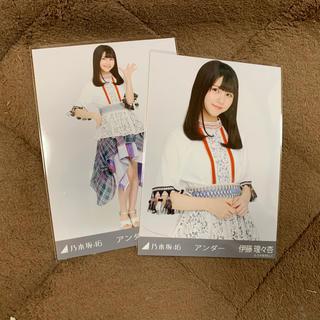 ノギザカフォーティーシックス(乃木坂46)の伊藤理々杏 生写真(アイドルグッズ)