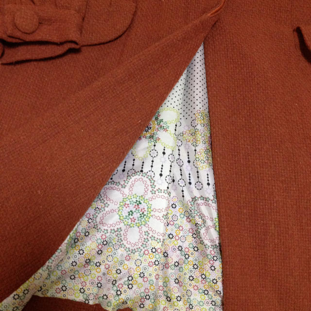 earth music & ecology(アースミュージックアンドエコロジー)のコート♡ブラウン  値下げ♡ レディースのジャケット/アウター(ロングコート)の商品写真