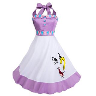 ディズニー(Disney)のティーポット夫人 ドレス(ひざ丈ワンピース)