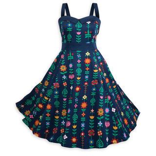 ディズニー(Disney)のイッツアスモールワールド ドレス(ひざ丈ワンピース)