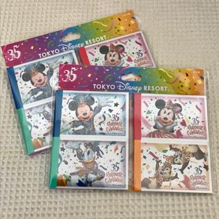 ディズニー(Disney)の35周年 ディズニー チケット メモ 2冊(ノート/メモ帳/ふせん)